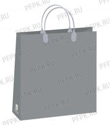 Сумочка из мягкого пластика 01 (26х23х10) малая BAS-142 (Серый)
