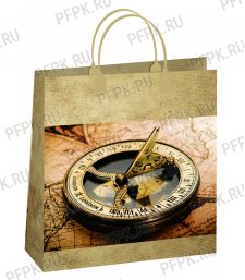 Сумочка из мягкого пластика 01 (26х23х10) малая BAS-128 (Морской компас)