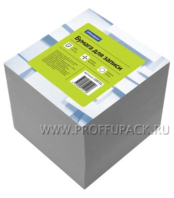 Блок для записей 9х9х9 не проклееный, белый (159-721 / КБ9-10 Бн)