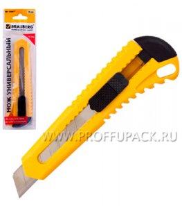 Нож канцелярский BRAUBERG 18мм (230-917)