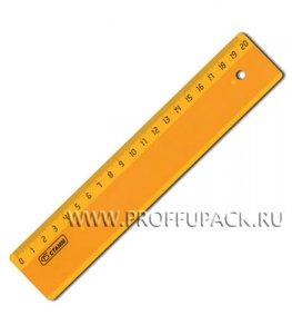 Линейка ФЛЮ 20см (023-934 / ЛН11)