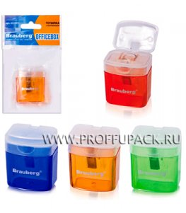 Точилка BRAUBERG OfficeBox (Офис Бокс) (222-494)