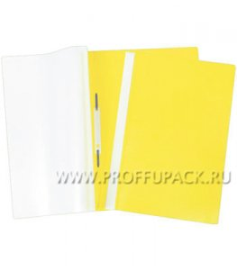 Папка-скоросшиватель А4, плотная (до 100 листов) Жёлтая (162-561 / Fms16-2_715)