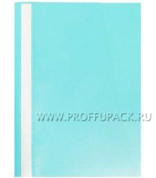Папка-скоросшиватель А4, плотная (до 100 листов) Голубая (162-560 / Fms16-1_714)