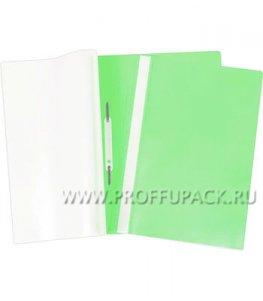 Папка-скоросшиватель А4, плотная (до 100 листов) Зелёная (162-562 / Fms16-3_716)
