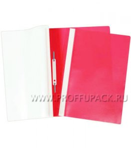 Папка-скоросшиватель А4, плотная (до 100 листов) Красная (162-563 / Fms16-4_717)