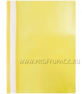 Папка-скоросшиватель А4, стандарт (до 100 листов) Жёлтая (240-673 / Fms16-2_11688)