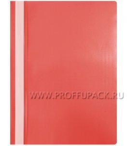 Папка-скоросшиватель А4, стандарт (до 100 листов) Красная (240-675 / Fms16-4_11690)