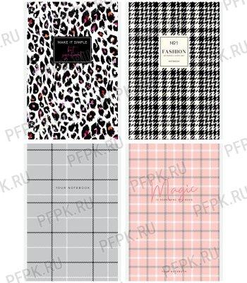 Блокнот А5 (80 листов) на скрепке Узор. Fashion pattent (293-683/Б5к80_29350)