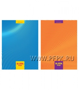 Блокнот А5 (80 листов) твердая обложка Sleek design (267-384/ББ5т80_лм 5632)