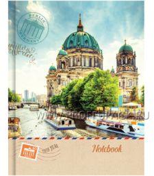Блокнот А6 (120 листов) твердая обложка Путешествия (223-338 / ББ6т120_7515)