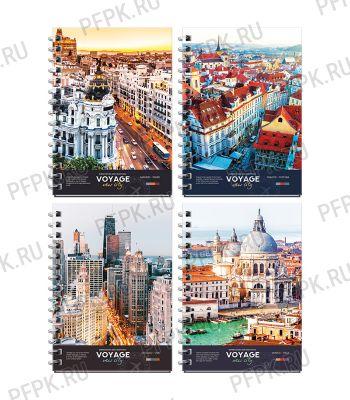 Блокнот А6 (120 листов) твердая обложка Путешествия(285-238/ЗКт6к120гр_27713)