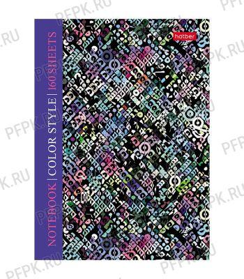 Блокнот А6 (160 листов) твердая обложка Color texture (288-567/160ББ6В1_22070)