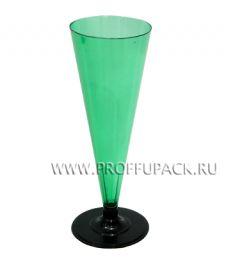 Фужер 150 мл на ножке Зеленый