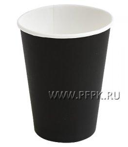 Стакан 350 мл бумажный Черный