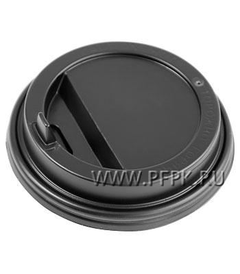 Крышка к стакану 350мл черная с носиком TLS90