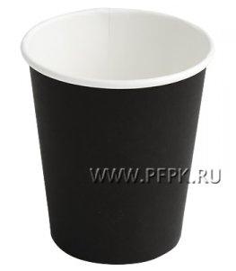 Стакан 250 мл бумажный (черный)