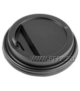 Крышка к стакану 250мл черная с носиком
