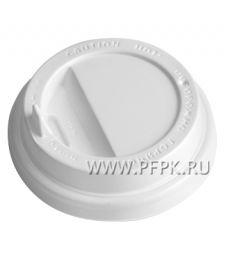 Крышка к стакану 350мл белая с носиком, д-р 90мм TLS90