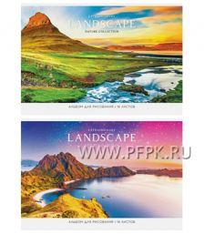 Альбом для рисования А4 (16 листов) Путешествия(280-705/А16ф_26332_
