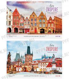 Альбом для рисования А4 (32 листа) Путешествия. Let`s inspire (280-653/А32_26226)
