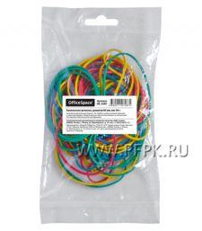 Резинки для денег цветные (пакет 50гр) OfficeSpace (235-120/ RB9287)