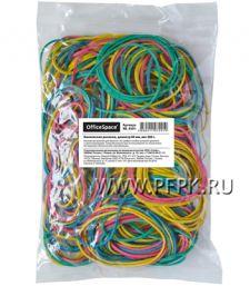 Резинки для денег цветные (пакет 200гр) OfficeSpace (235-122/RB9291)