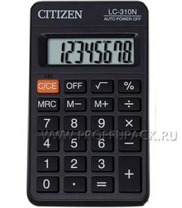 Калькулятор CITIZEN LC-310N (064-433/250-345)