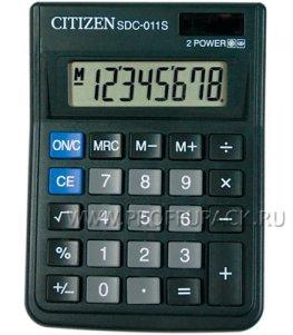 Калькулятор CITIZEN SDC-011S (118-191)