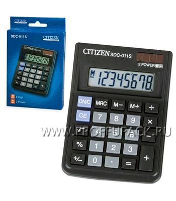Калькулятор CITIZEN SDC-011S (250-326)