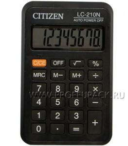 Калькулятор CITIZEN LC-210N (146-596)