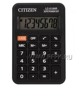 Калькулятор CITIZEN LC-210NR (250-344)