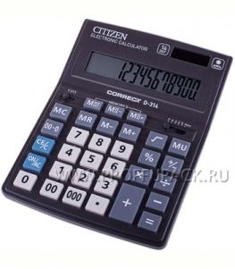 Калькулятор CITIZEN D14 Correct D314 (218-796 / 250-413/ D-314)