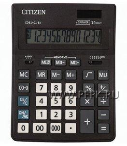 Калькулятор CITIZEN D14 Business Line CDB1401BK (250-435)
