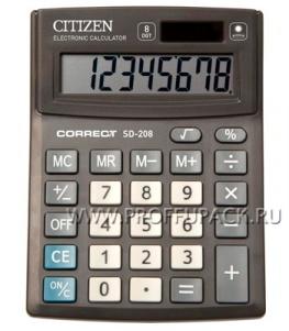 Калькулятор CITIZEN Correct SD208 (250-409)