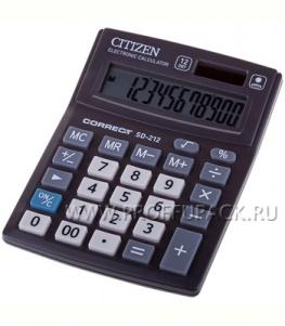 Калькулятор CITIZEN Correct SD212 (218-800 / 250-411 / SD-212)