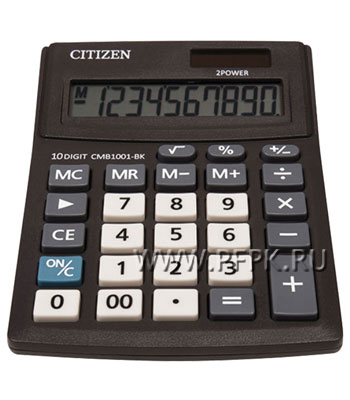 Калькулятор CITIZEN SD210 Business Line CMB1001BK (250-432)