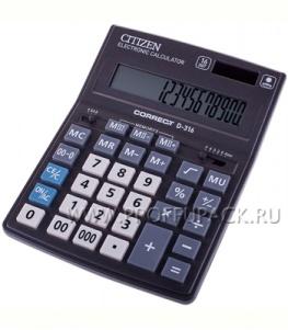 Калькулятор CITIZEN Correct D316 (218-797 /250-414/ D-316)