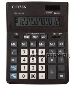 Калькулятор CITIZEN D12 Business Line CDB1201BK (250-434)