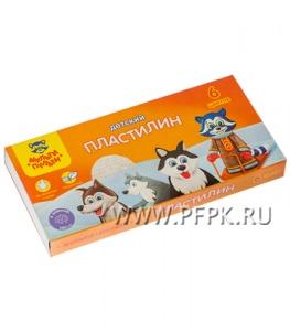 Пластилин (набор 6 цветов + стек) (236-486/ДП_10232)