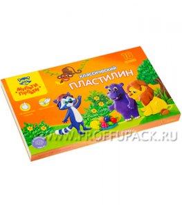 Пластилин (набор 18 цветов + стек) (236-485 / КП_10211)