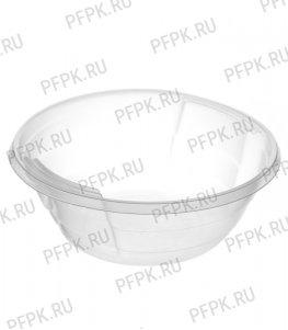 Тарелка суповая 500 мл ИНТЕКО Прозрачная