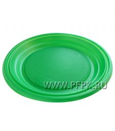 Тарелка десертная D170 ЦВ Зеленая ТР-10