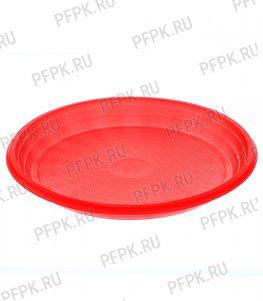 Тарелка 1-секционная ЦВ Красная ТР-20