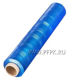 Стрейч - пленка 500мм, 17 мкм, 1,8кг НЕТТО Синий