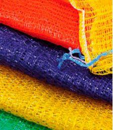 Сетки-мешки овощные 45х75 (до 30 кг) с завязками Зеленые