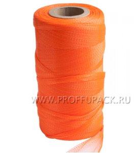 Сетка-рукав мелкая ячейка 500 м (о400) Оранжевая
