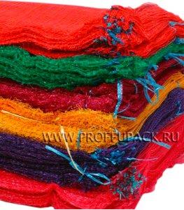 Сетки-мешки овощные 50х80 (до 40 кг) с завязками Фиолетовые