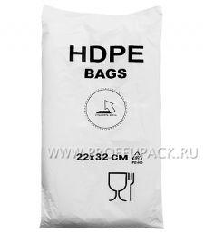 14+8х32 [22x32] евро HDPE BAGS, БЕЛАЯ (упак.)