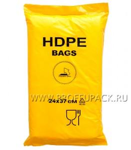24х37 евро BAGS, ЖЕЛТАЯ (упак.)